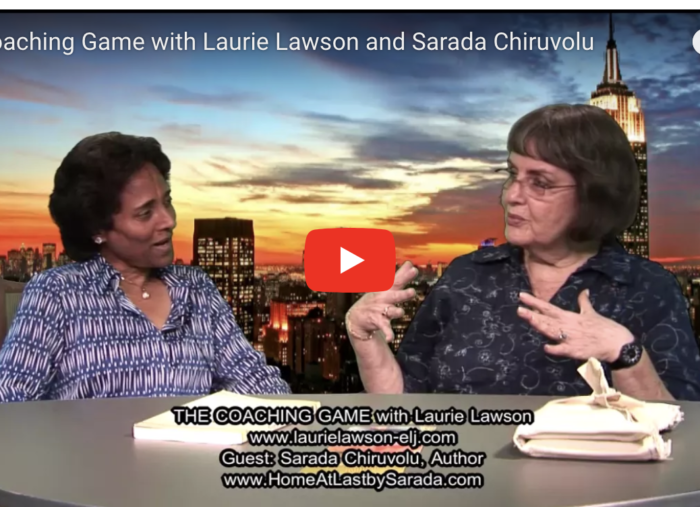 """Home at Last"" live TV Interview  with Laurie Lawson"