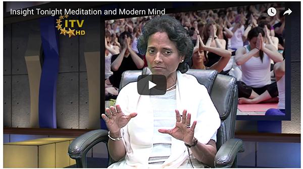 On Meditation Today